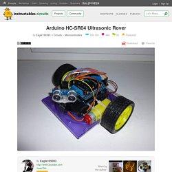 Arduino HC-SR04 Ultrasonic Rover: 5 Steps