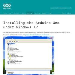 UnoDriversWindowsXP