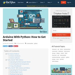Arduino With Python: How to Get Started