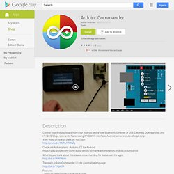 ArduinoCommander