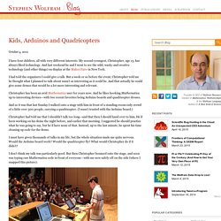 Kids, Arduinos and Quadricopters—Stephen Wolfram Blog