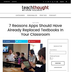 Are Apps the New Textbook?