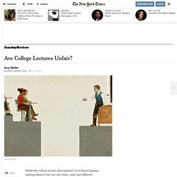 Are College Lectures Unfair?