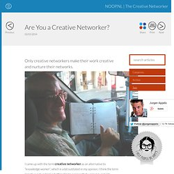 Are You a Creative Networker?