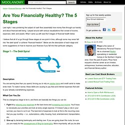 Are You Financially Healthy? The 5 Stages