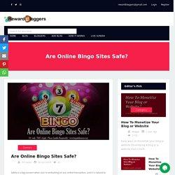Are Online Bingo Sites Safe?