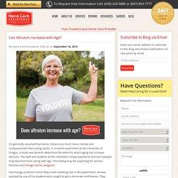 Are Seniors More Altruistic?
