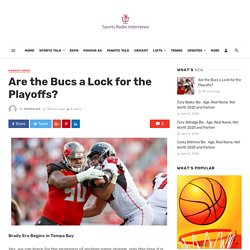 Are the Bucs a Lock for the Playoffs? -