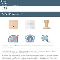 Are We HR Compliant ? - Procure HR