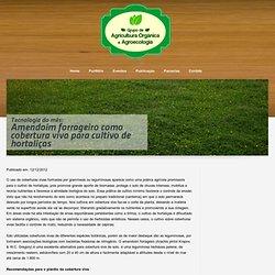 Área de Agricultura Orgânica