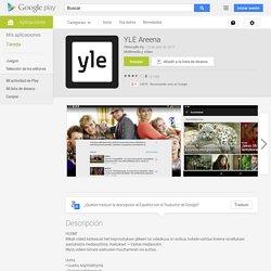 YLE Areena - Aplicaciones de Android en Google Play