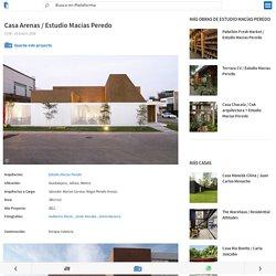 Casa Arenas / Estudio Macías Peredo