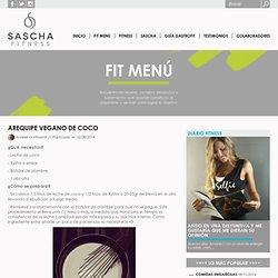 Arequipe vegano de coco - Sascha Fitness