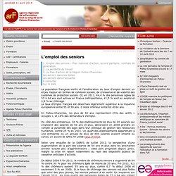 Agence régionale de la formation Poitou Charentes - L'emploi des seniors