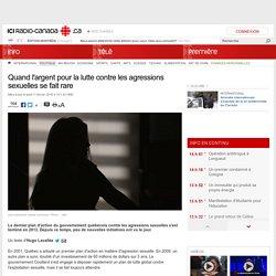 Quand l'argent pour la lutte contre les agressions sexuelles se fait rare