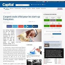 L'argent coule à flot pour les start-up françaises
