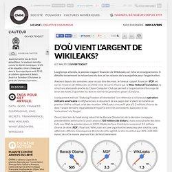 D'où vient l'argent de WikiLeaks?