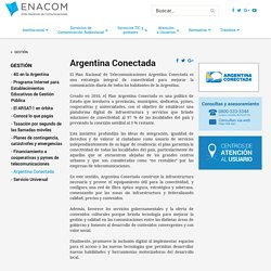 Argentina Conectada - ENACOM