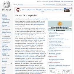 Historia de la Argentina