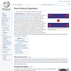 Pacto Federal (Argentina)