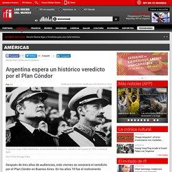 Argentina espera un histórico veredicto por el Plan Cóndor - Américas - RFI