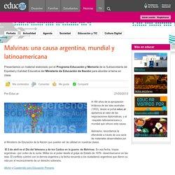 Malvinas: una causa argentina, mundial y latinoamericana