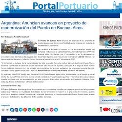 Argentina: Anuncian avances en proyecto de modernización del Puerto de Buenos Aires - Portal Portuario
