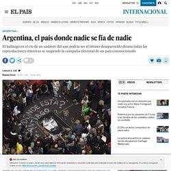 Argentina, el país donde nadie se fía de nadie