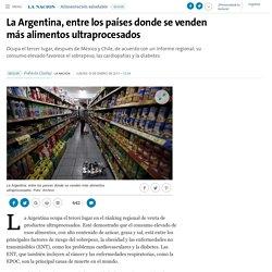 La Argentina, entre los países donde se venden más alimentos ultraprocesados - 19.01.2017 - LA NACION