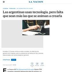 Las argentinas usan tecnología, pero falta que sean más las que se animan a crearla