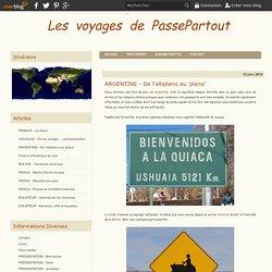 ARGENTINE - De l'altiplano au 'plano' - Les voyages de Passepartout