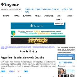 Argentine : le point de vue du Ducroire