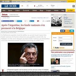 Après l'Argentine, les fonds vautours s'en prennent à la Belgique