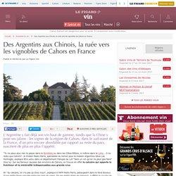 Des Argentins aux Chinois, la ruée vers les vignobles de Cahors en France