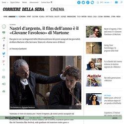 Nastri d'argento, il film dell'anno è il «Giovane Favoloso» di Martone - Corriere.it