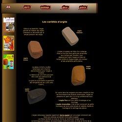 L'argile, la terre-papier, l'argile autodurcissante