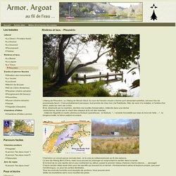 Armor Argoat - Rivières et lacs. - Plounérin