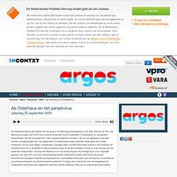 [new URL ] Argos - 05:27 Ab Osterhaus en het paniekvirus