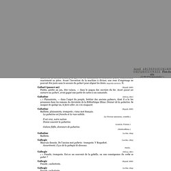 Argot français de 1827 à 1907 : G