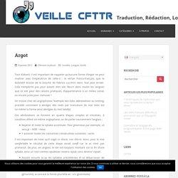 Veille CFTTR