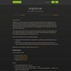 Argotlunar by Michael Ourednik