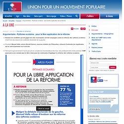 Une calomnie qui vise à salir - Actualités - S'informer - Le Mouvement Populaire – UMP