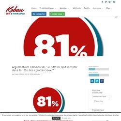 Argumentaire commercial : le SAVOIR doit-il rester dans la tête des commerciaux ? - Koban CRM en ligne complet et Marketing automation pour les PME