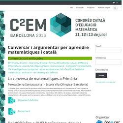 Conversar i argumentar per aprendre matemàtiques i català