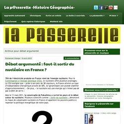 débat argumenté Archives - La p@sserelle -Histoire Géographie-