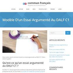 essai argumenté au DALF C1 : suivez le guide vers la réussite !