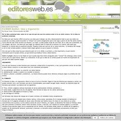 ESCRIBIR MANGA: Idea y Argumento at Editores Web: Creación de contenidos online y promoción en redes sociales