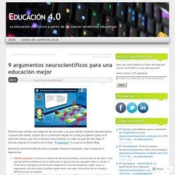 9 argumentos neurocientíficos para una educación mejor