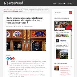 Arguments contre la légalisation du cannabis en France