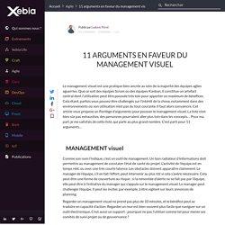 11 arguments en faveur du management visuel